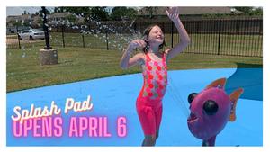 Seabrook's Monroe Field Splash Pad Opening on April 6