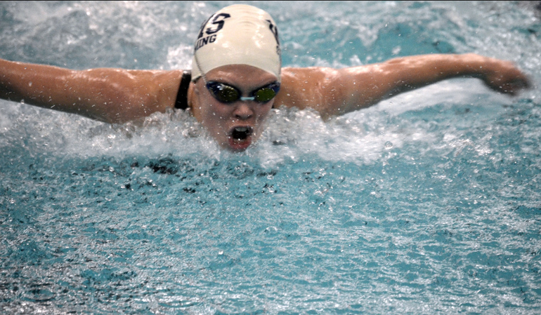 Abby McKinney set the Wesfield school record for the 100 Butterfly with a time of 55.90..png