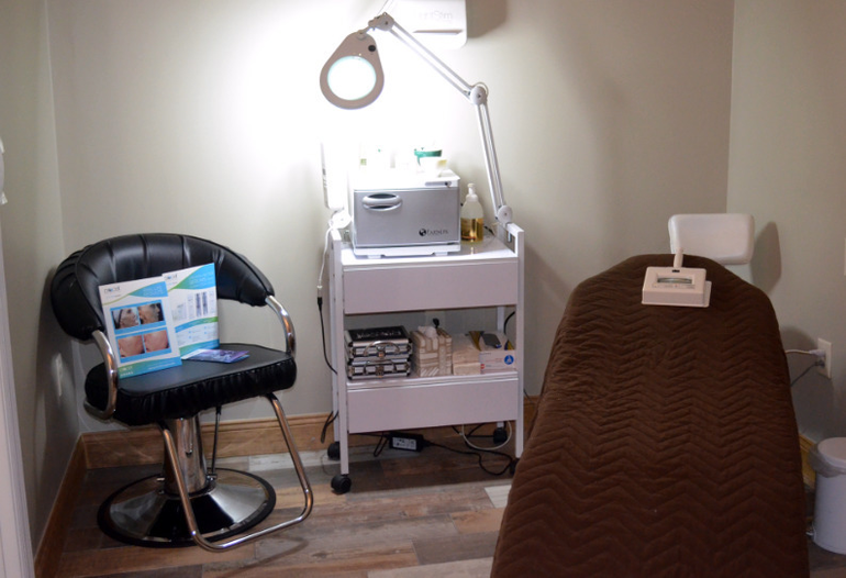 New massage room at Able Body Spa in downtown Scotch Plains.
