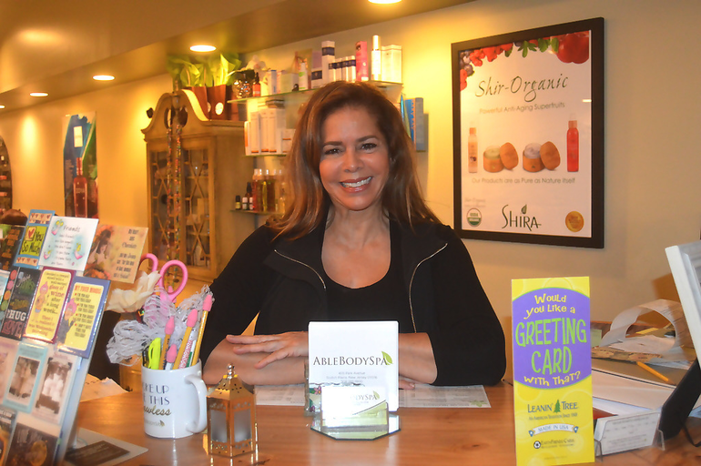 Ruth Wolinsky of Able Body Spa in Scotch Plains