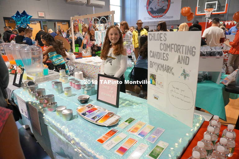 a Chloe Finnerty ran Chloe's Comforting Candles and Bookmarks ©2019 TAPinto Montville.JPG