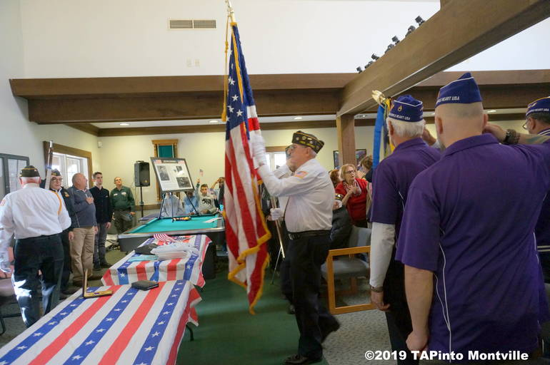 a Colors brought in, Purple Heart Chapter 366 ©2019 TAPinto Montville.JPG