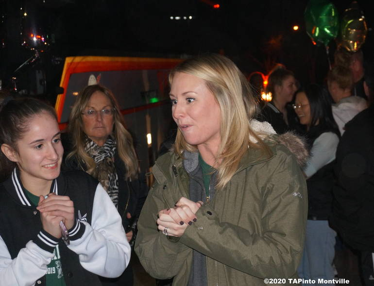 a Coach Kelsey O'Connor offers thanks to parents and well wishers ©2020 TAPinto Montville.JPG