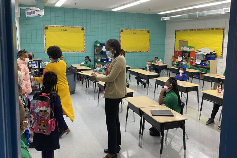 Nervousness, Excitement During Achieve Charter School's Return to In-Person Instruction