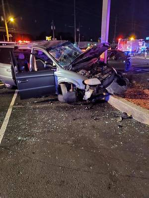 Carousel image c1038eef5ad1344d21a7 accident at kfc  on route 17 s saturday oct 24 2020 courtesy hhfd chief dave gumbrecht