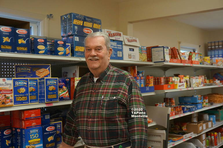 a Deane Driscoll, Kiwanis Food Pantry Director ©2020 TAPinto Montville.JPG