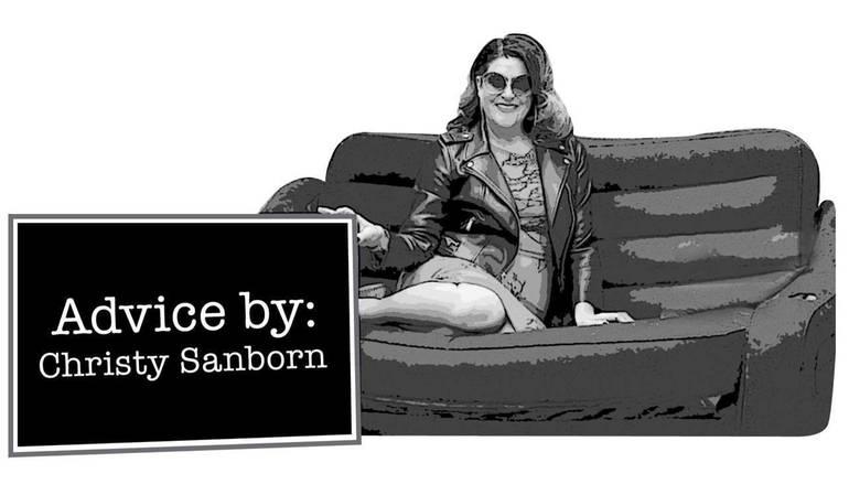 """""""Sex deprived"""" — Free Advice by Christy Sanborn"""