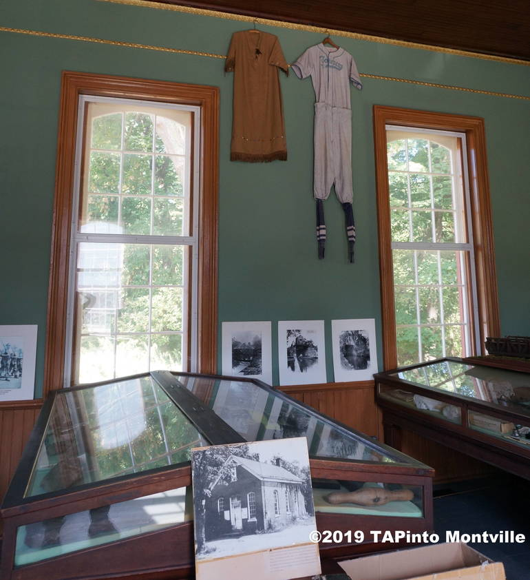 a Display cases at the Montville Museum ©2019 TAPinto Montville.JPG