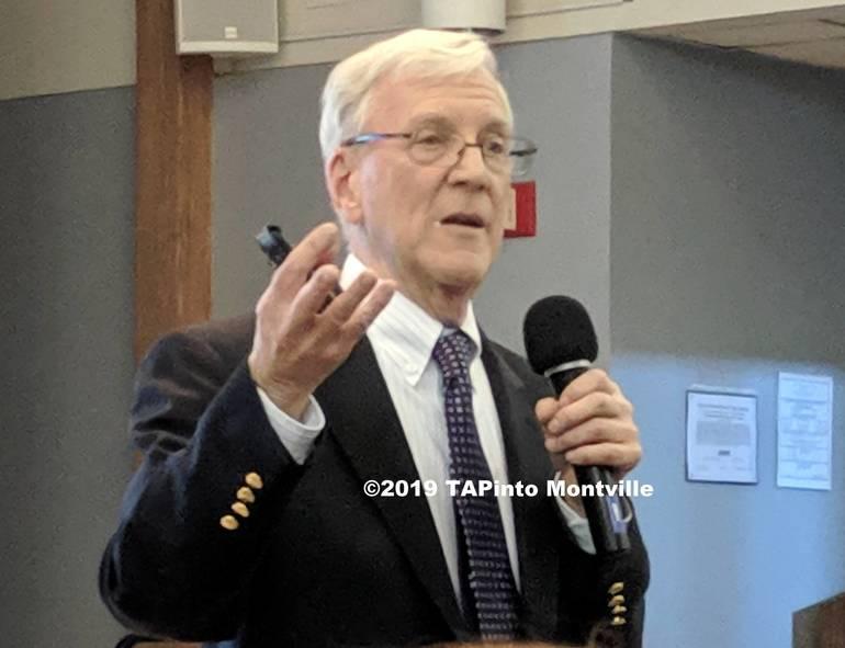 a Dr. Steven Marcus speaks at the Montville Township Public Library ©2019 TAPinto Montville 1.jpg