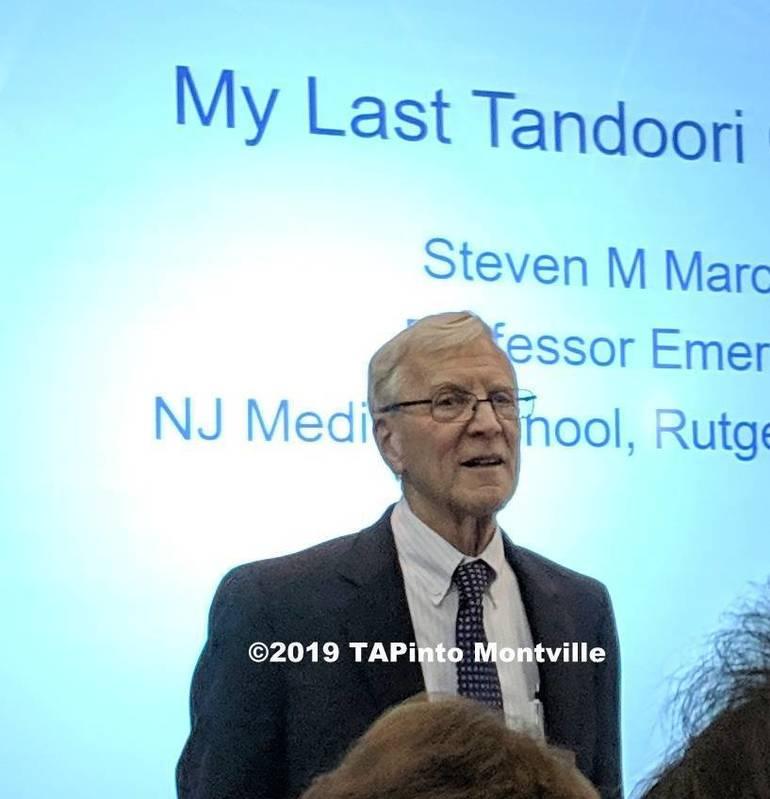 a Dr. Steven Marcus speaks at the Montville Township Public Library ©2019 TAPinto Montville.jpg