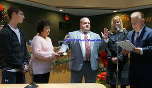 Carousel image 403e00fe74025d3d29ed a deputy mayor frank cooney re takes the oath of office  2019 tapinto montville