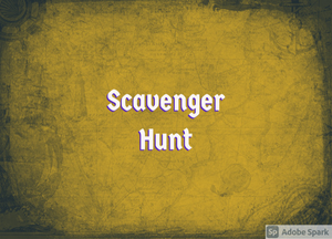 "Residents Invited to Participate in ""On the Trail Scavenger Hunt""; March 5 - April 9 (Win Prizes)"
