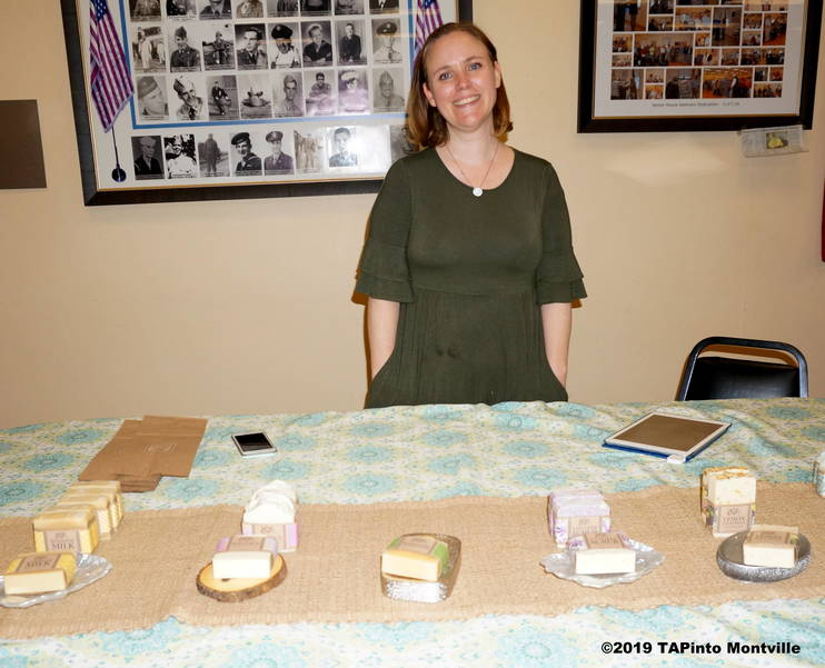 a Erin Kounouklos with her soaps ©2019 TAPinto Montville.JPG