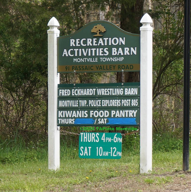 a Food Pantry Sign ©2020 TAPinto Montville.JPG