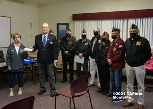 VFW Donates to Montville Twp First Aid Squad