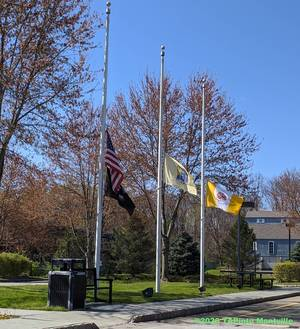 Carousel image a35ed2d4ede4b62a8fd2 a flags at the montville twp police department  2020 tapinto montville