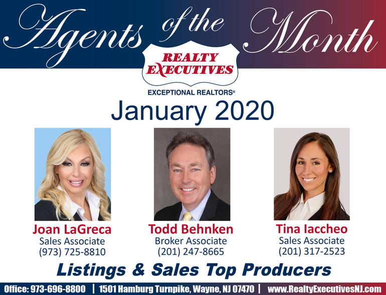 Agents of the Month-Jan 2020
