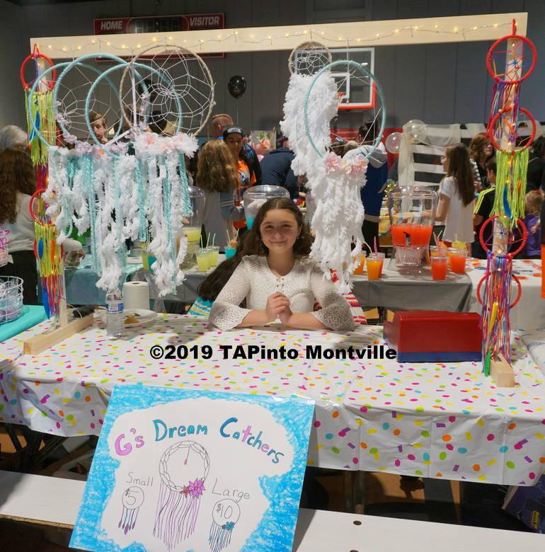 a Giuliana Panico sells G's Dream Catchers ©2019 TAPinto Montville.JPG