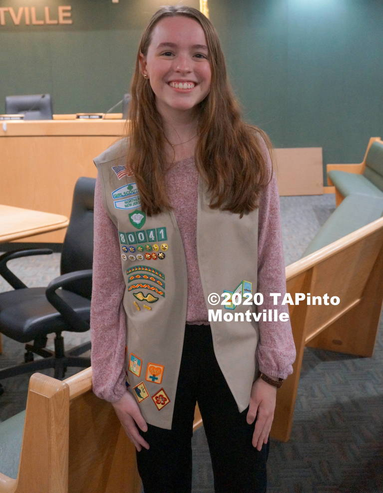 a Girl Scout Isabella Kruger ©2020 TAPinto Montville.JPG