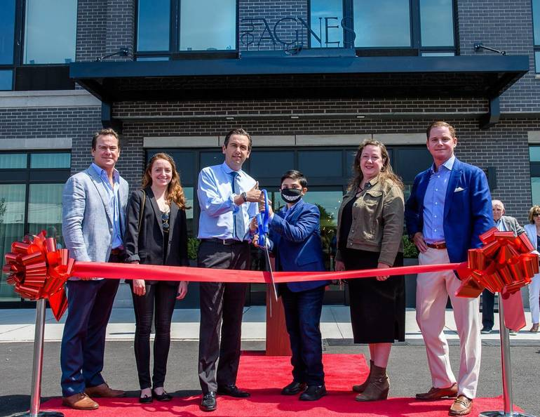 Jersey City Mayor Fulop Joins Developers to Celebrate the Opening of The Agnes