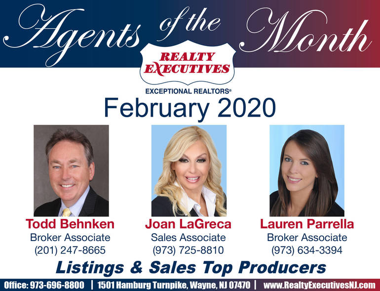 Agents of the Month-Feb 2020