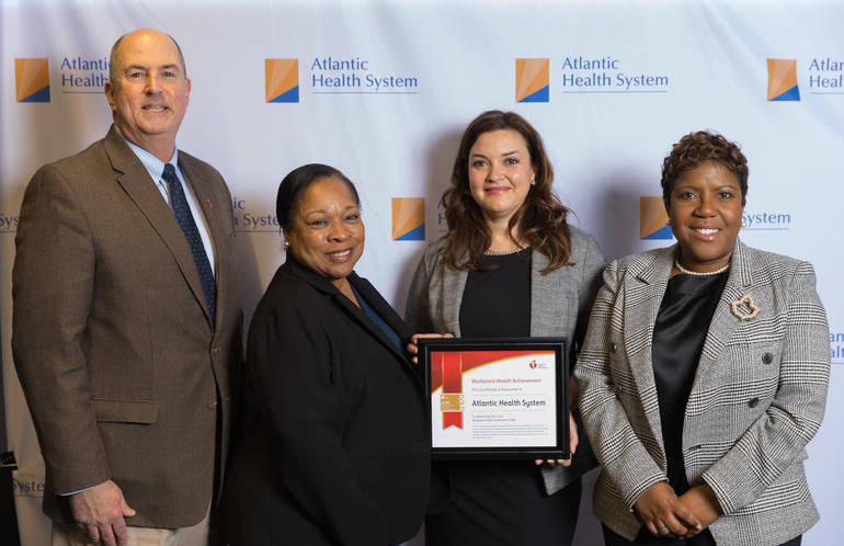 Atlantic Health System Honored by American Heart Assoc.