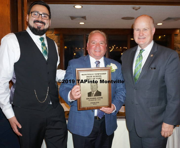 a Hall of Fame President Dan O'Brien, honoree Richard Cook, and Morris County Sheriff James Gannon.JPG