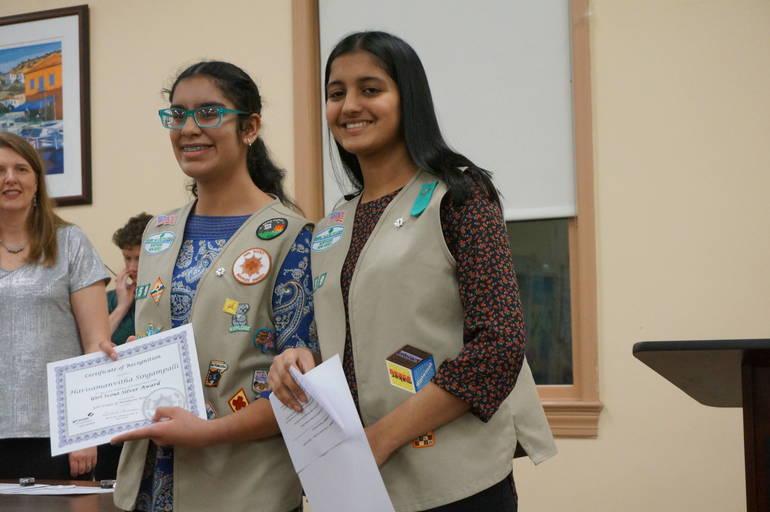 a Harisamanvitha Singampalli and Sahana Vaidya.JPG