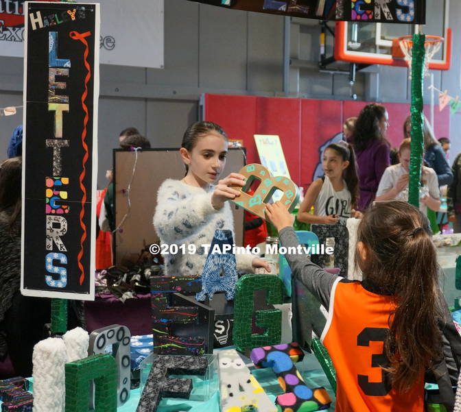 a Hailey Dragone makes a sale at Hailey's Wacky Letters ©2019 TAPinto Montville.JPG