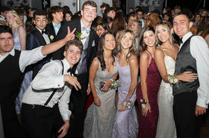 Somers Students Celebrate at Senior Prom