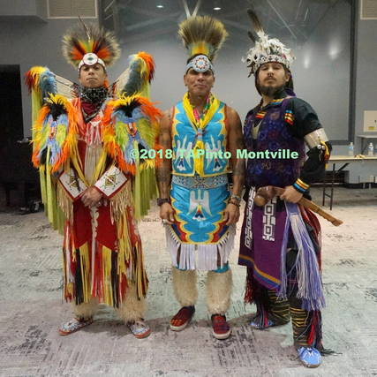 Top story 56b79e29a8375afcfc4d a hassan ridgeway of the leni lenape tribe  cliff matias of the taino tribe  and raven matias of the mohawk tribe  2018 tapinto montville