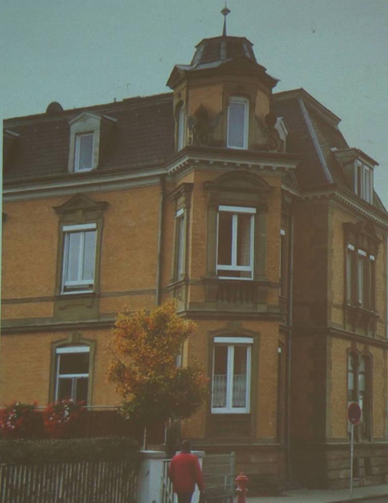 a Inge Marx Stanton's home in Lichtenfels Lisa Salko.JPG