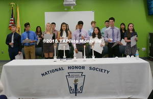 Carousel image 83209d21da54bebbbf5e a inductees into the national honor society  2018 tapinto montville     1.