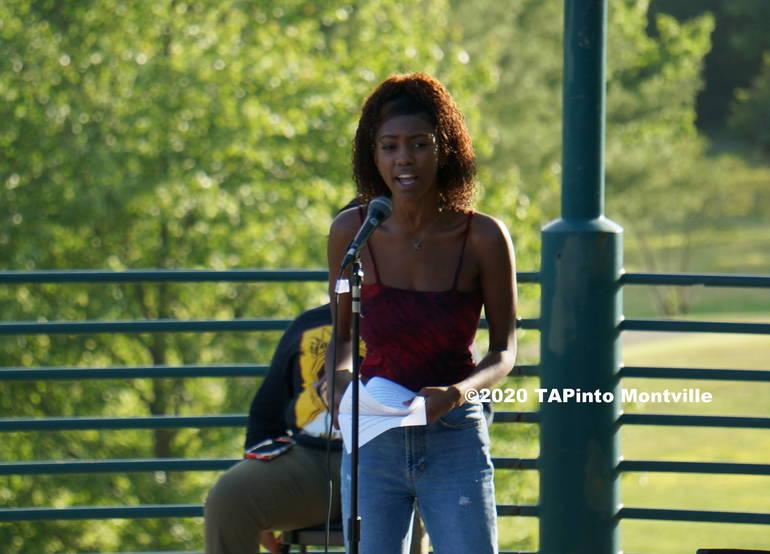 a Kaiya Clarke speaks ©2020 TAPinto Montville.JPG
