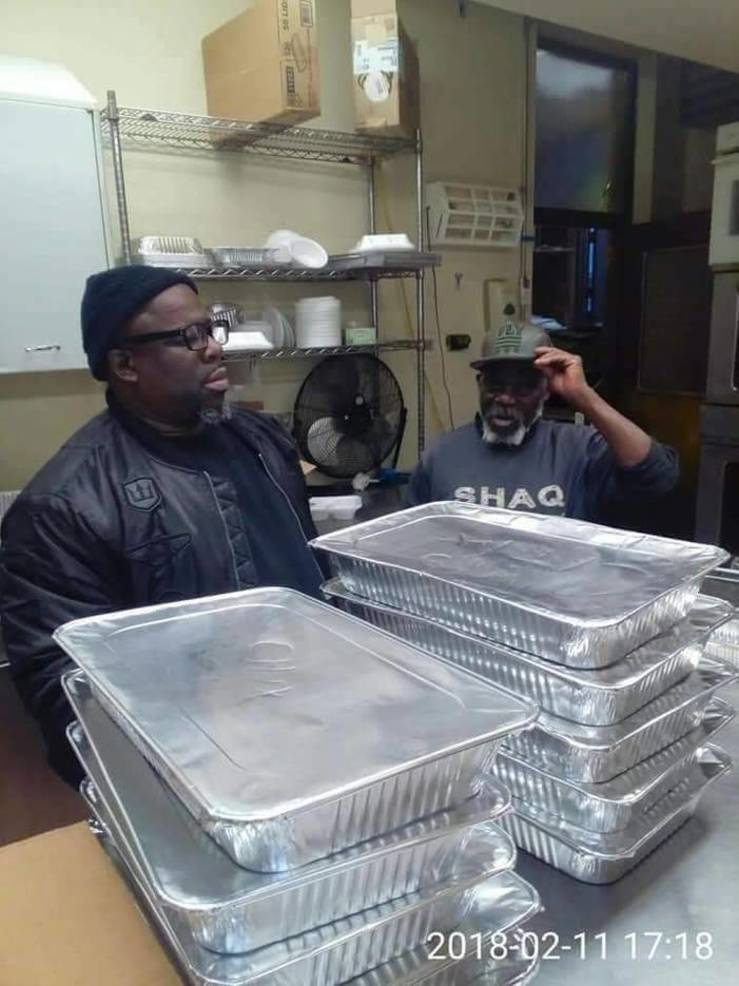 Hungry Homeless Food Pantry Soup Kitchen