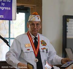 Carousel image 89c61feefa9f6c6b09b1 a ken hanzl at the 2019 veterans day commemoration  2020 tapinto montville