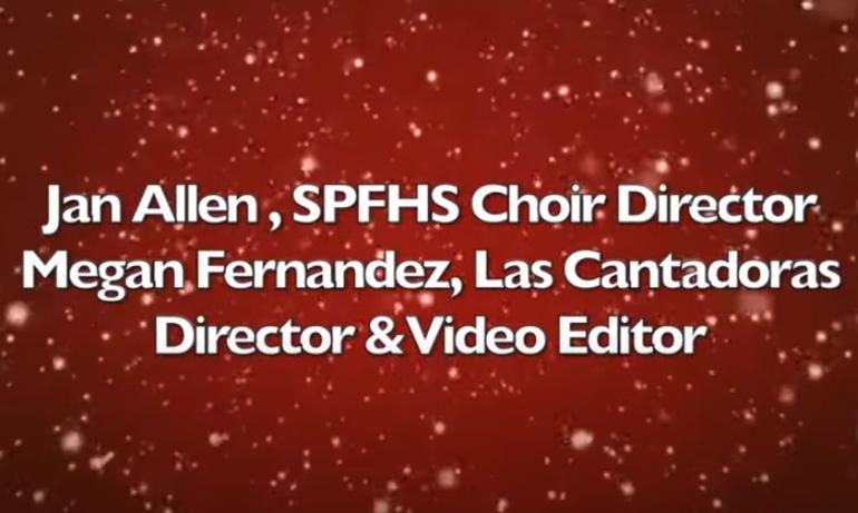 Scotch Plains-Fanwood HS 2020 Pop & Holiday Performance credits