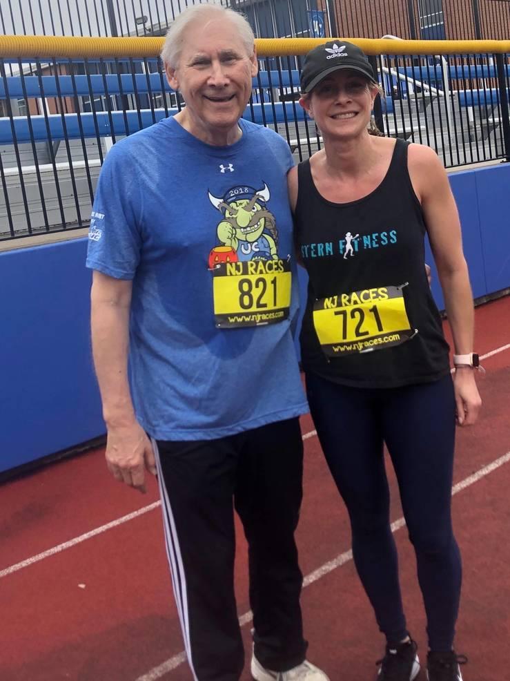 Scotch Plains Mayor Al Smith and Lori Sternberg