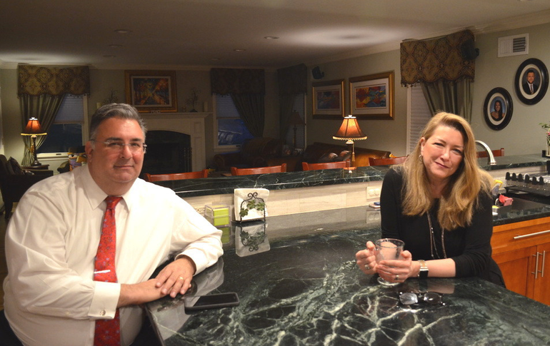 Al and Phyllis Mirabella sat for an interview with TAPintoSPF at their Fanwood home.