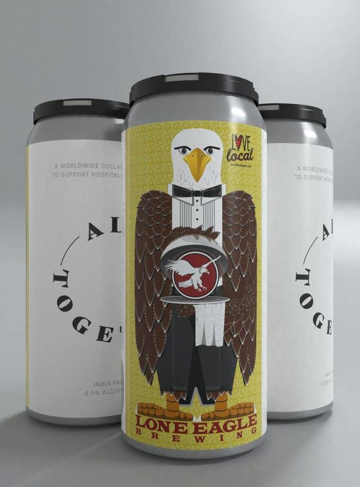 Lone Eagle Brewing Joins Global Effort to Support Those Affected by Coronavirus