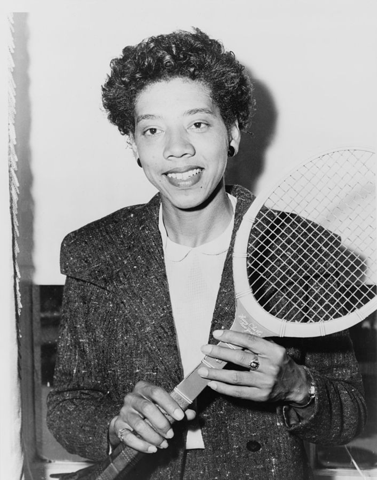Althea Gibson portrait - Library of Congress New York World-Telegram and Sun Collection