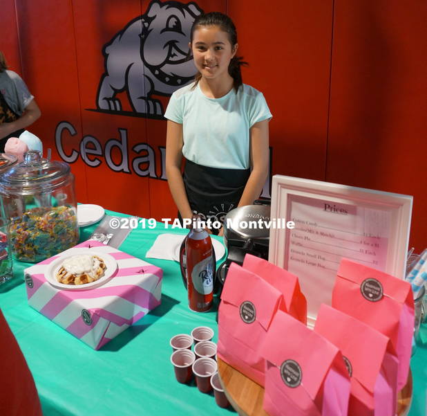a Lia Hovaniak at her booth Lia's Sweet Treats ©2019 TAPinto Montville.JPG