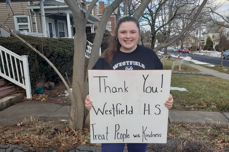 Club at Westfield High School Holding Drive for Women in Need