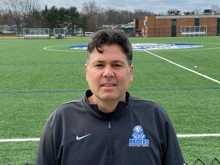Alex Passucci, Scotch Plains-Fanwood High School's current soccer coach, succeeded his mentor, Tom Breznitsky in 2020.