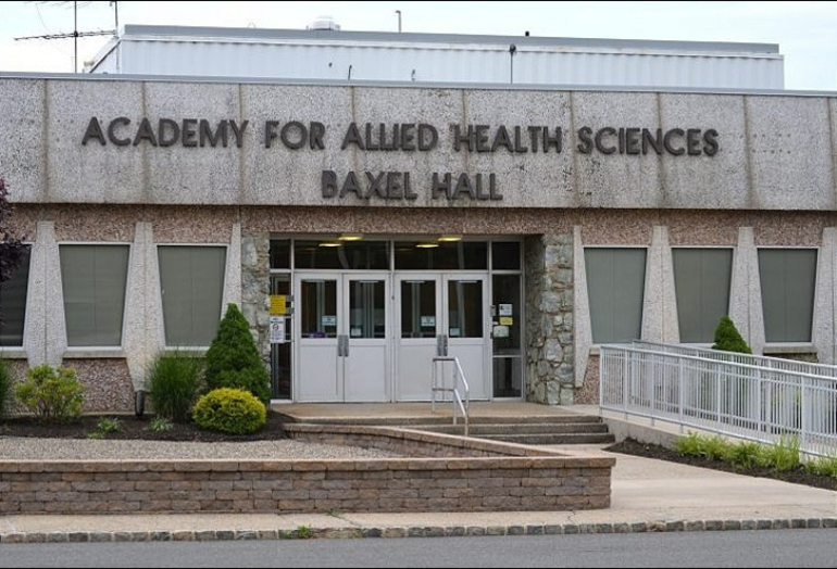 Academy for Allied Health Services at Union County VoTech campus on Raritan Road in Scotch Plains.