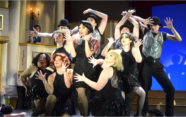Scotch Plains-Fanwood High School presented the musical Chicago during the weekend before the coronavirus lockdown.
