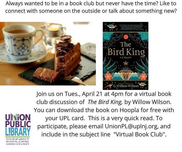 UPL Virtual Book Club