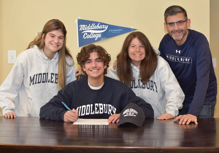 Alec Gironda, Cross Country and Track, Division III, Middlebury College.jpg