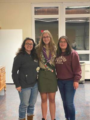 Sparta Troop 1150 to Hold Eagle Court of Honor for 3 Local Girls