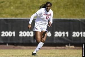 Ali Scores Golden Goal to Advance RU Women's Soccer to Next Round of Big Ten Tournament